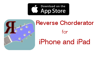 Reverse Chorderator for iPhone and iPad
